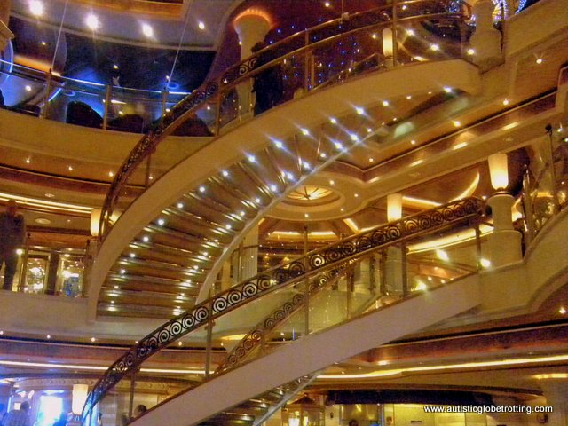 Eight Cruiseline Accommodations to Request When Traveling with Autism stair