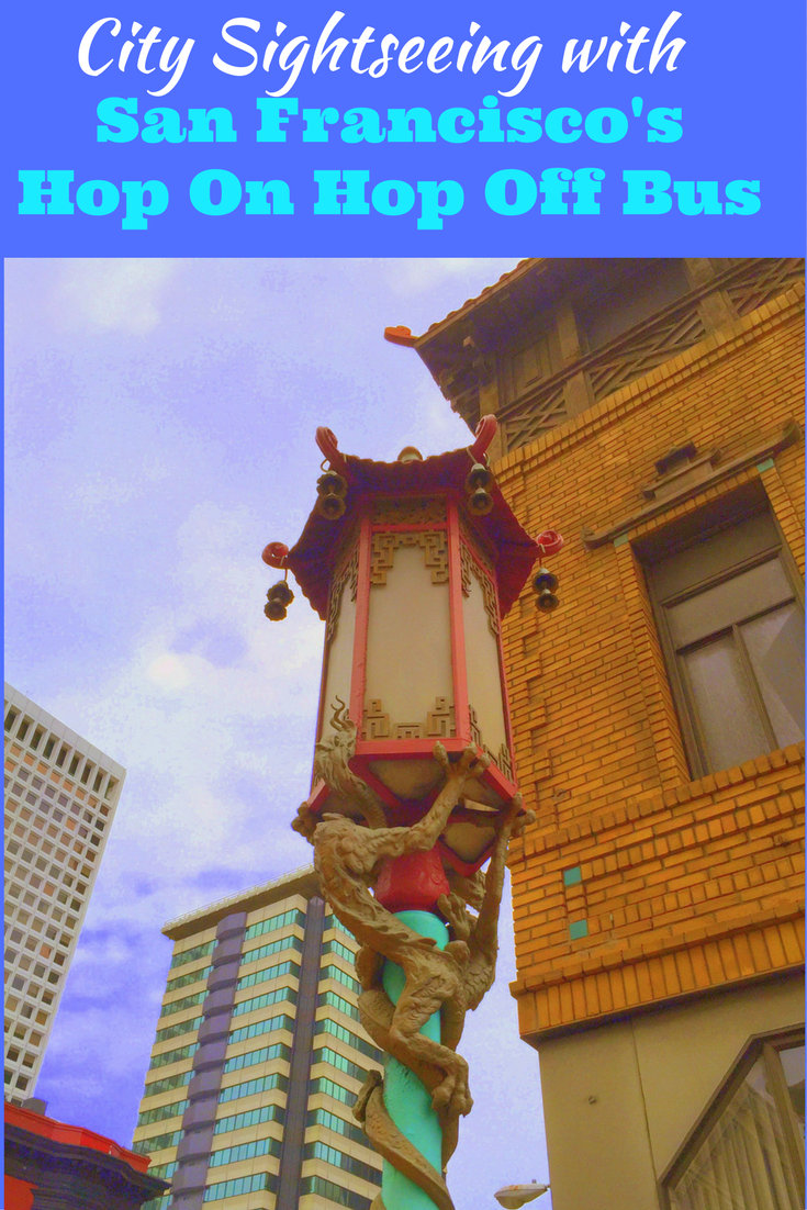 City Sightseeing with San Francisco's Hop On Hop Off Bus PIN