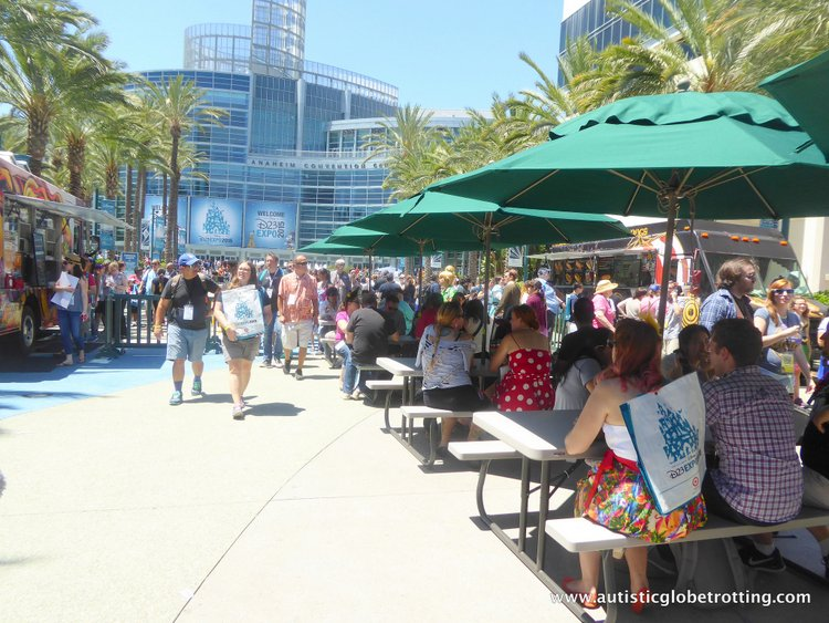 Tips and Quips to Survive the Disney D23 Expo seats
