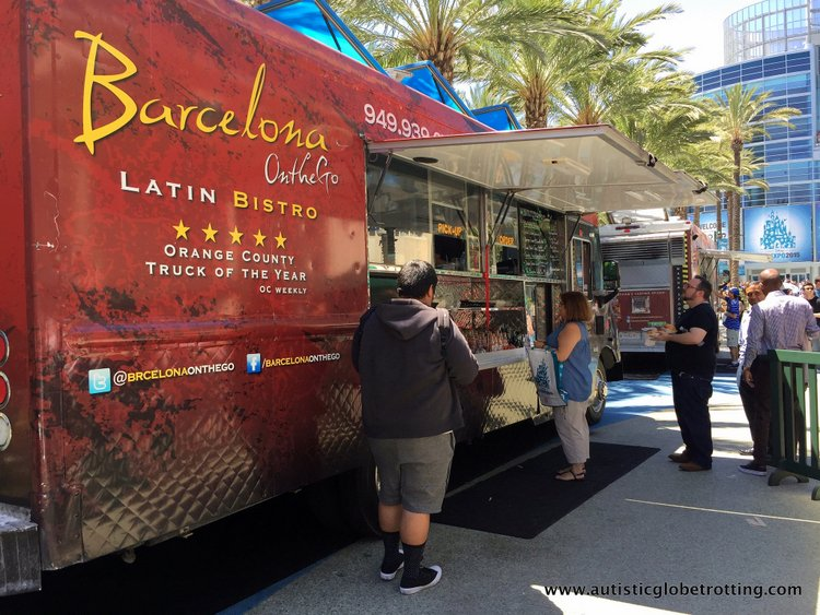 Tips and Quips to Survive the Disney D23 Expo truck