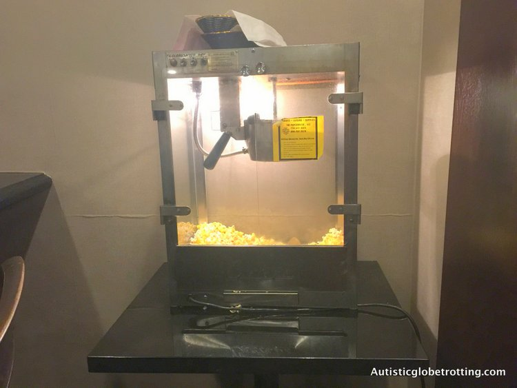 Our Family Stay at the Holiday Inn Buena Park pop corn