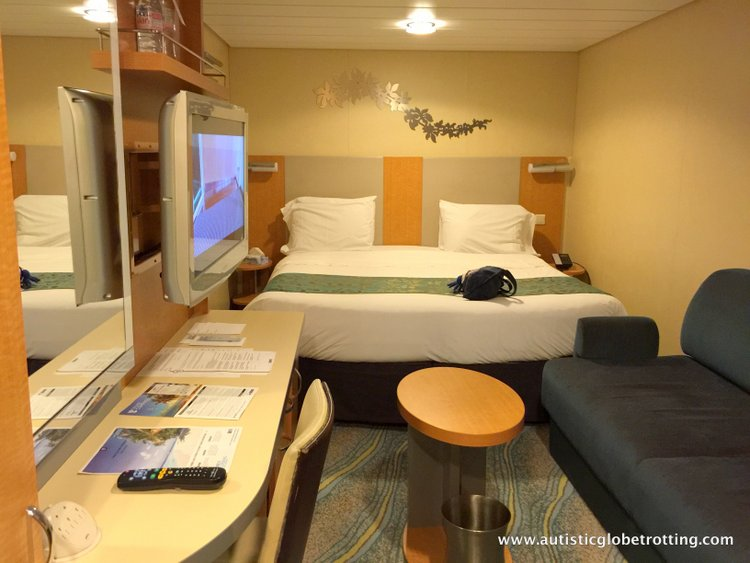 Cruising Oasis of the Seas with Autism bed