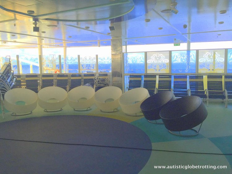 Cruising Oasis of the Seas with Autism blue