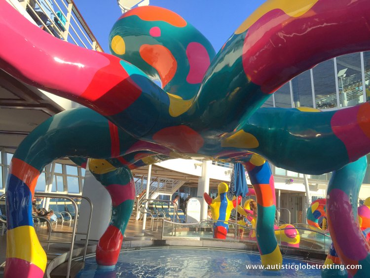 slide Cruising Oasis of the Seas with Autism