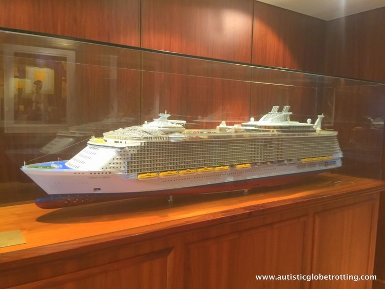 Cruising Oasis of the Seas with Autism ship