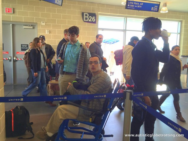 Pros and Cons of Wheelchair Assistance When Traveling With Autism seat