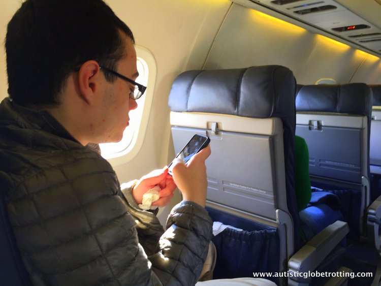 How the US Electronic Ban affects Traveling with Autism phone