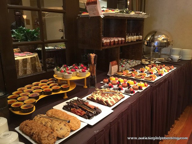 Family Fun at the Memphis Peabody Hotel Brunch table