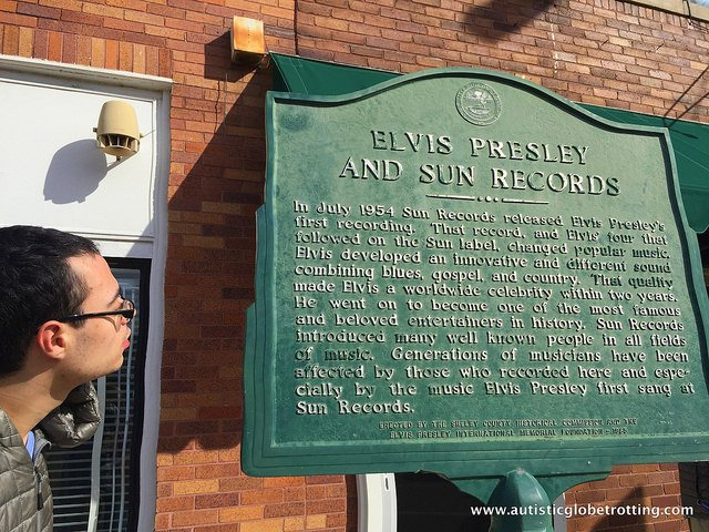 Best Family Activities in Memphis Tennessee plaque