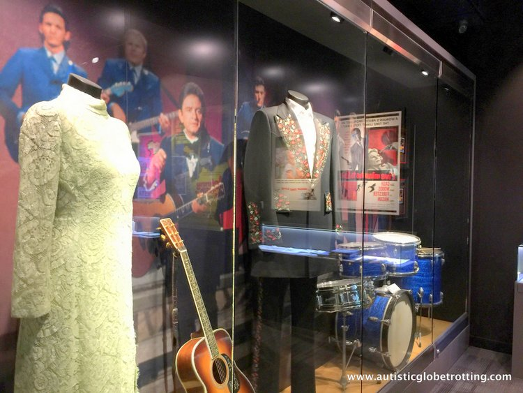 the Johnny Cash Museum cash guitar