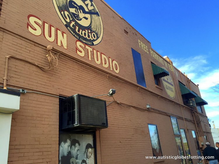Three Iconic Memphis Music Museums to Explore for Kids with Autism sun studios