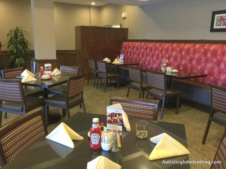Our Family Stay at the Holiday Inn Buena Park table