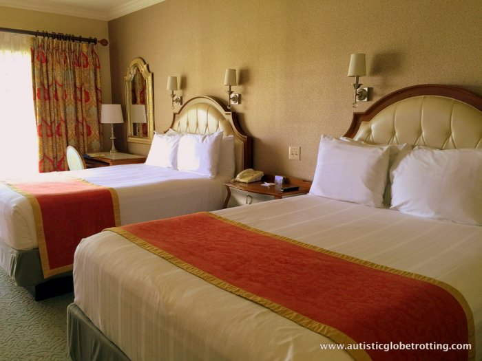 Our Family Stay at Disney's Grand Floridian bed