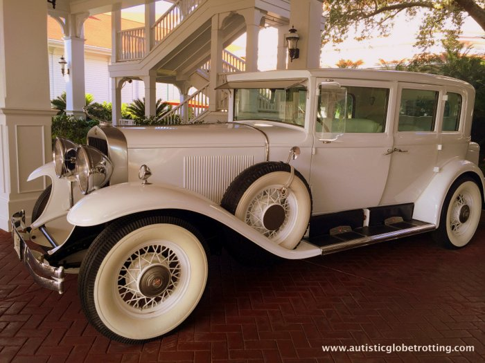 Our Family Stay at Disney's Grand Floridian car