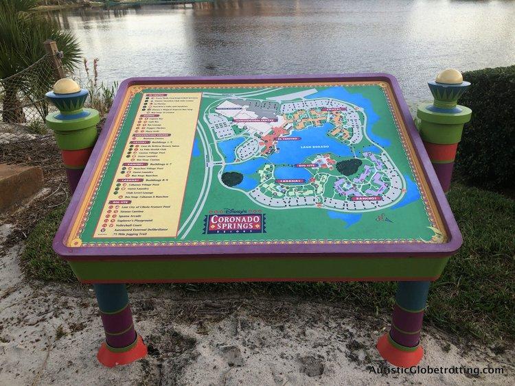 Disney Coronado Springs Resort Tips for Families resort map