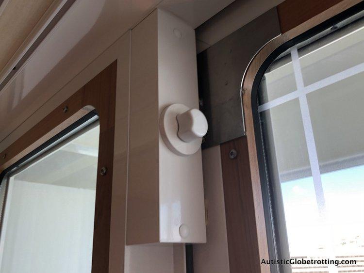 Is aDisney Dream Deluxe Family Oceanview Stateroom worth the splurge? lock on sliding door