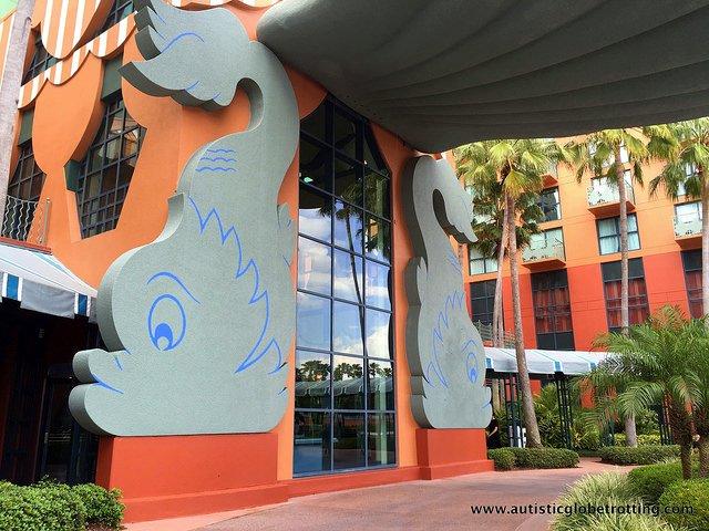 Family Friendly Stay at the Walt Disney World Dolphin Hotel door