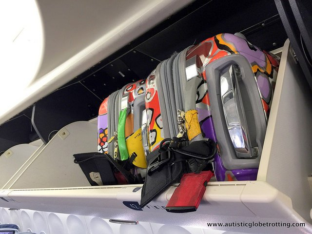 Nine ways to accommodate kids with autism while flying luggage