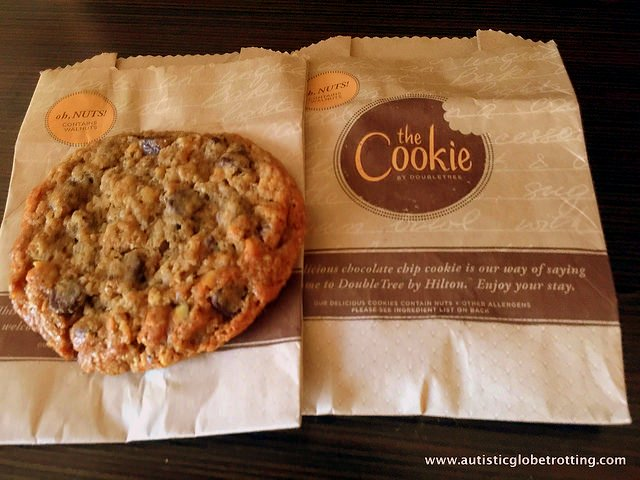 Family Stay at the DoubleTree Los Angeles cookie