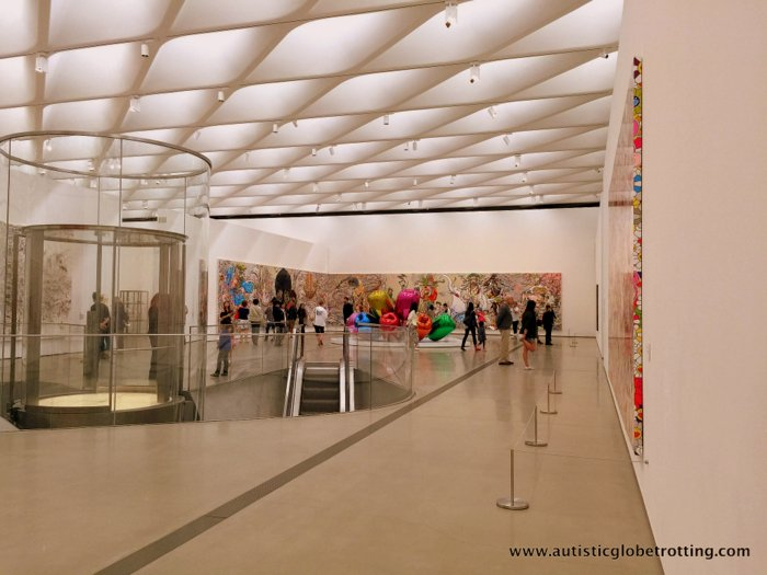 Taking Kids to the Los Angeles Broad Museum room