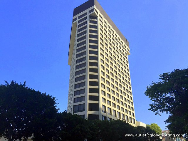 Family Stay at the DoubleTree Los Angeles building