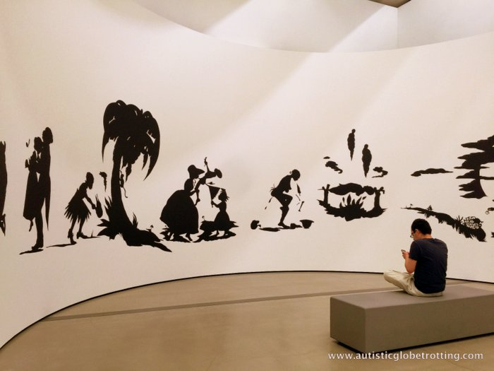 Taking Kids to the Los Angeles Broad Museum art