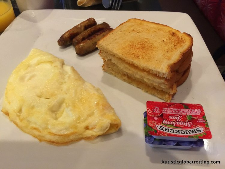 Our Family Stay at the Holiday Inn Buena Park omlet