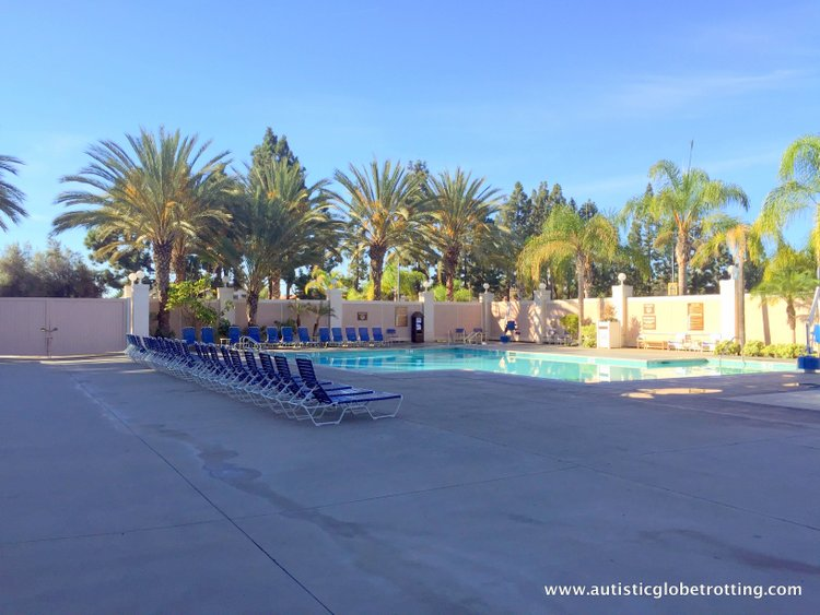 The Knott's BerryFarm Hotel is great for Families pool