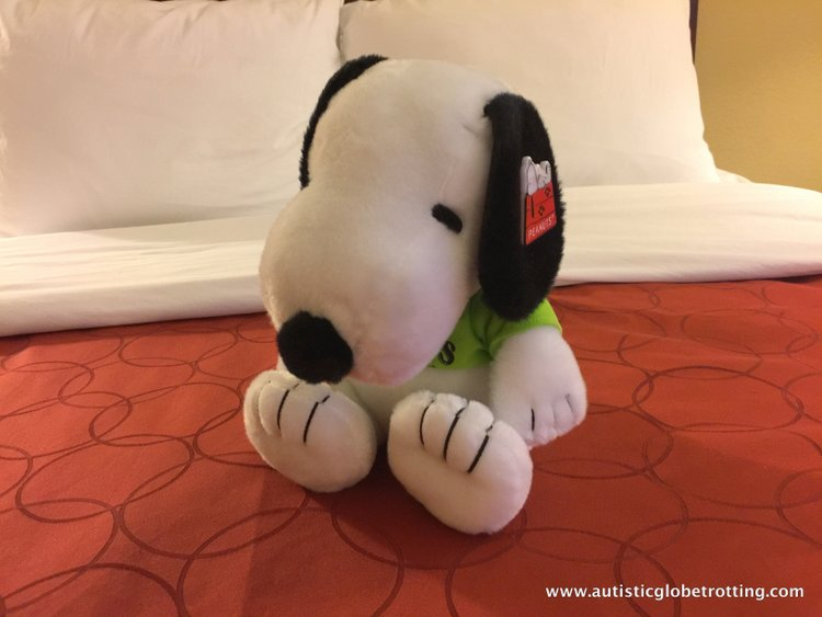 The Knott's BerryFarm Hotel is great for Families doll