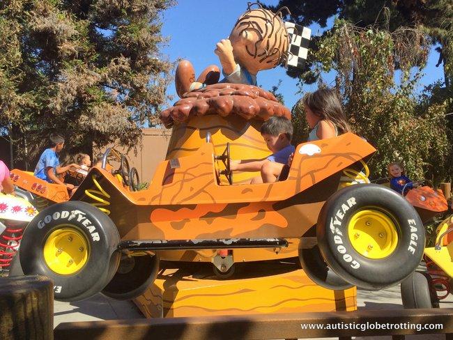 Spooky Times at Knott's Berry Farm car
