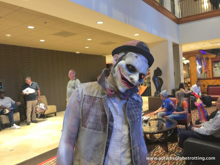 The Knott's BerryFarm Hotel is great for Families scary