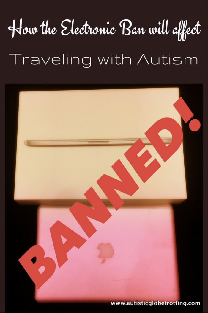 electronic ban and autism travel pin