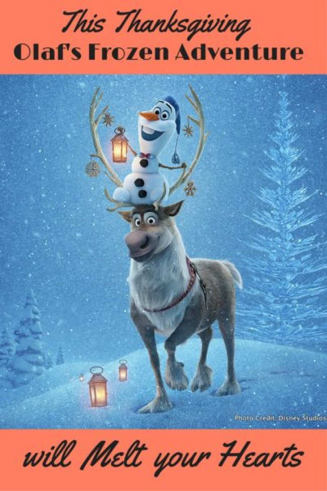 3 Magical Ways Olaf's Frozen Adventure will Melt your Hearts pin