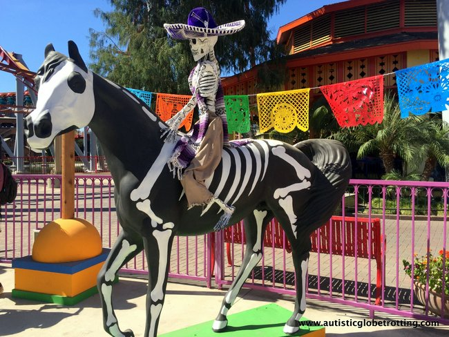 Spooky Times at Knott's Berry Farm horse