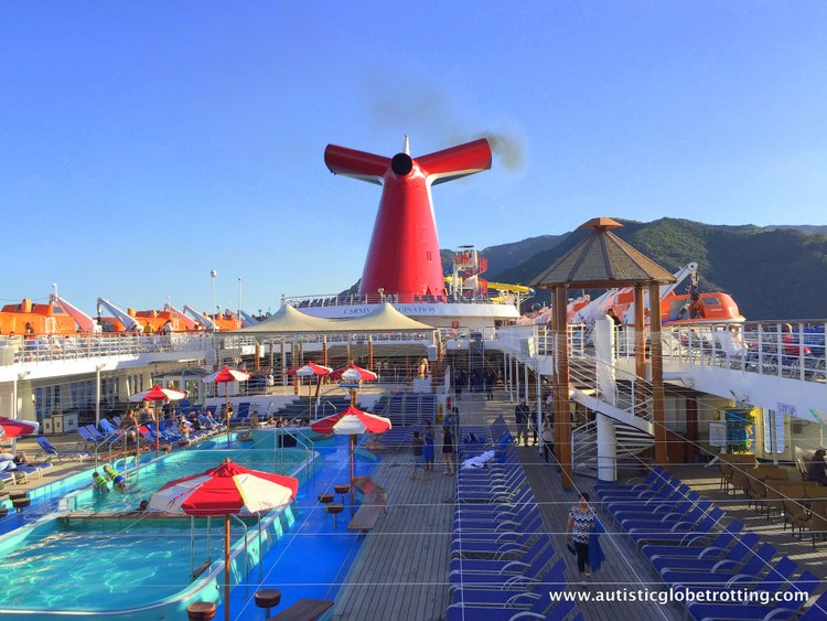 amily Friendly Activities Aboard the Carnival Imagination pool