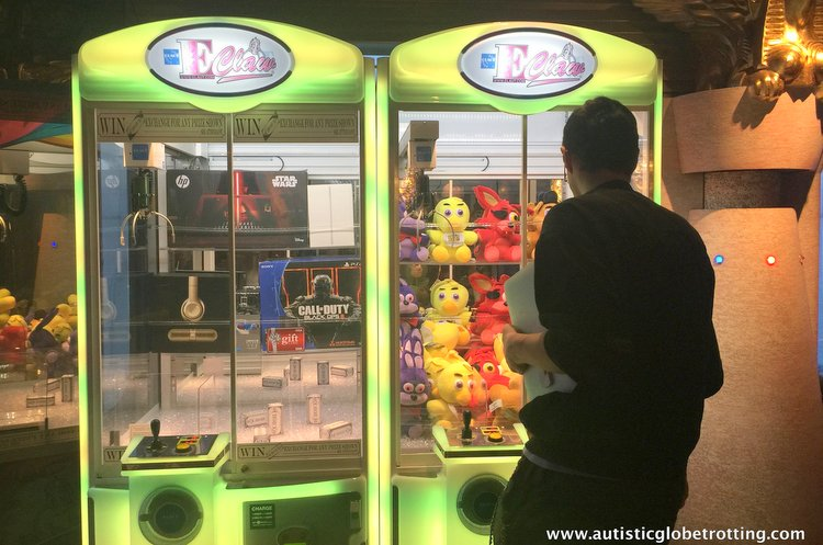 amily Friendly Activities Aboard the Carnival Imagination arcade