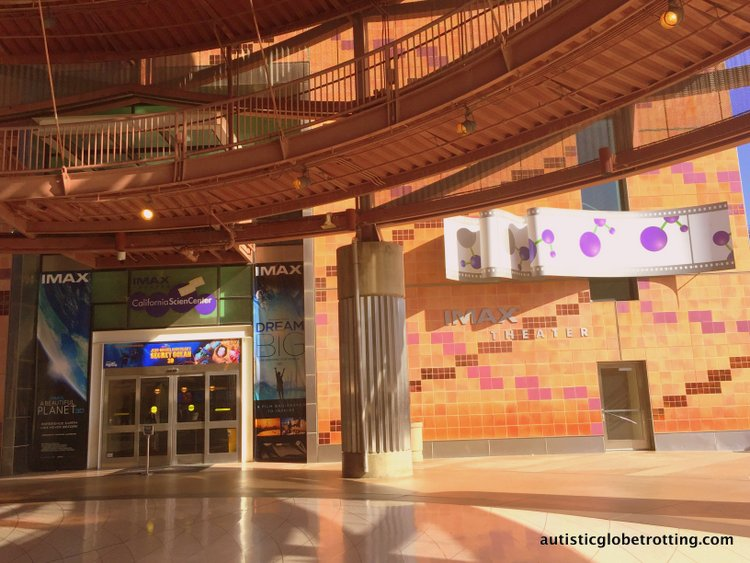 Exploring the California Science Center with Kids imax
