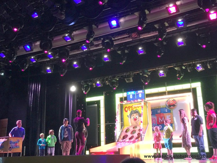 amily Friendly Activities Aboard the Carnival Imagination show