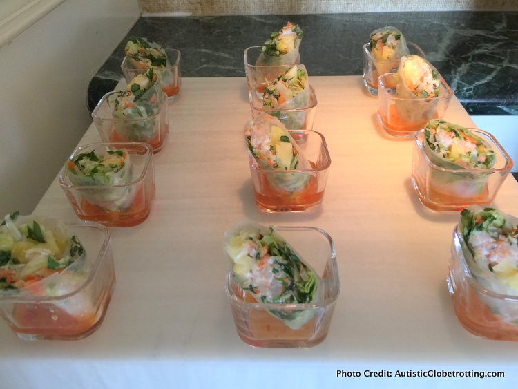 The Ritz-Carlton Orlando Grande Lakes Executive Lounge salads