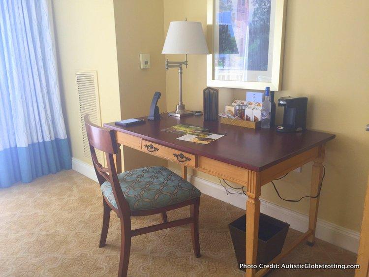 The Ritz-Carlton Orlando Grande Lakes desk
