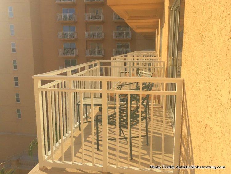 The Ritz-Carlton Orlando Grande Lakes balcony