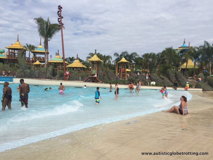 16 Best Tips for Visiting Universal's Volcano Bay with Autism beach