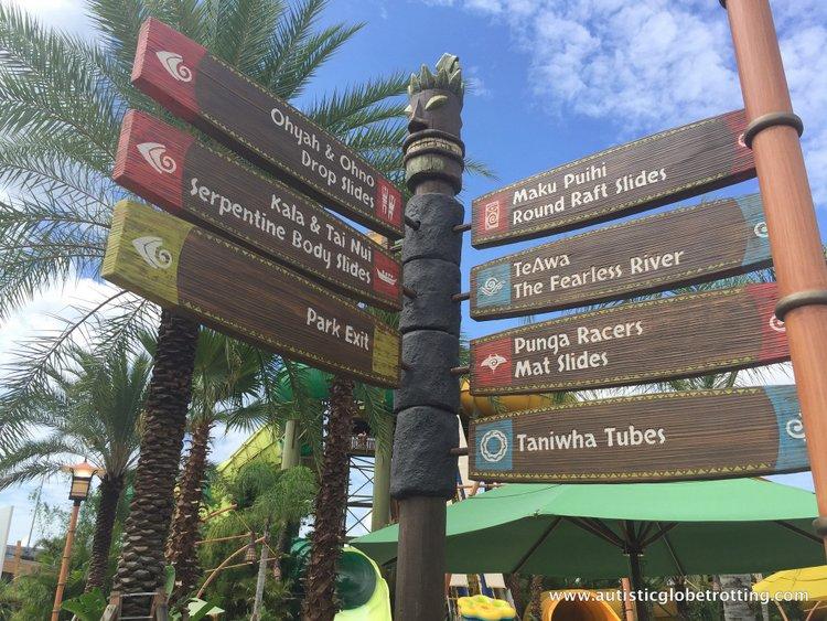 Universal Studios Volcano Bay™ Tips names