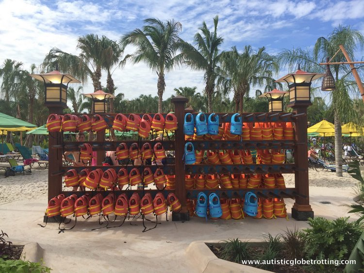 16 Best Tips for Visiting Universal's Volcano Bay with Autism vests