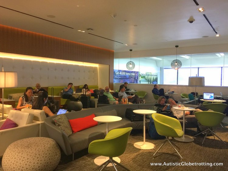 How we liked San Francisco International Airport Centurion Lounge seats