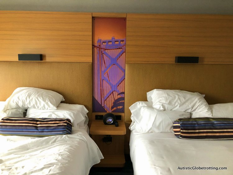 Our Family Friendly stay at the Westin San Francisco Airport Hotel beds