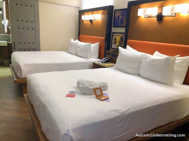 Disney Coronado Springs Resort Tips for Families queen beds
