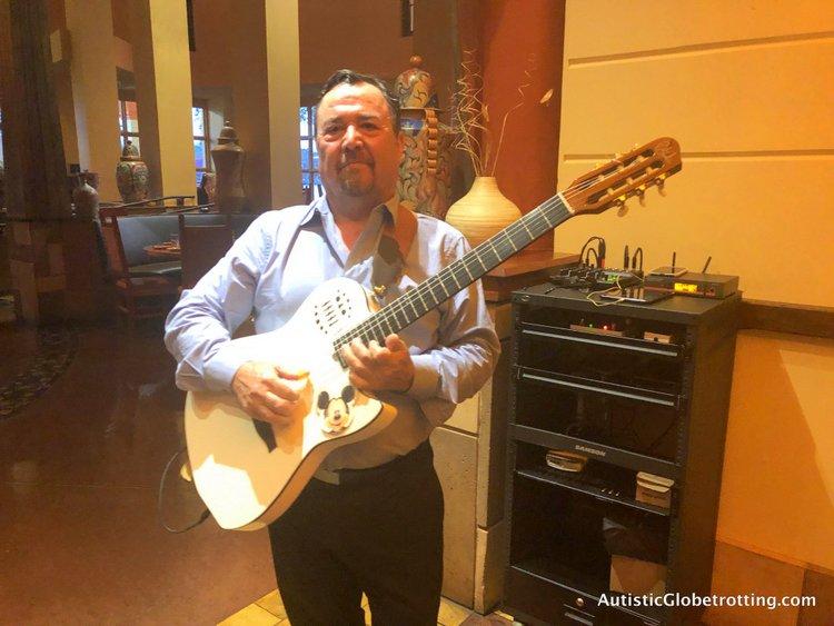 Disney Coronado Springs Resort Tips for Families the maya grill musician