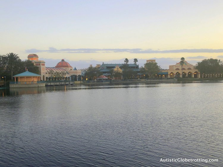 Disney Coronado Springs Resort Tips for Families the lake