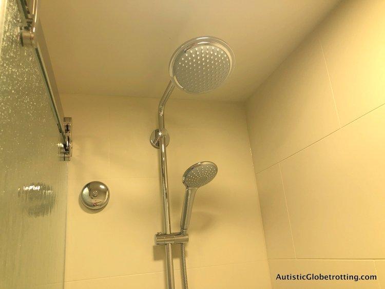 Disney Coronado Springs Resort Tips for Families hand held shower head